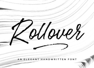 Rollover Font