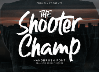 Shooter Champ Font