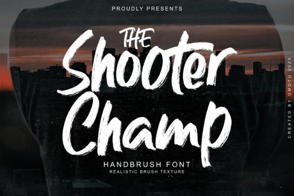 Shooter Champ Font