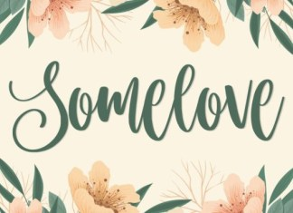 Somelove Font