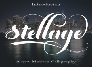 Stellage Font