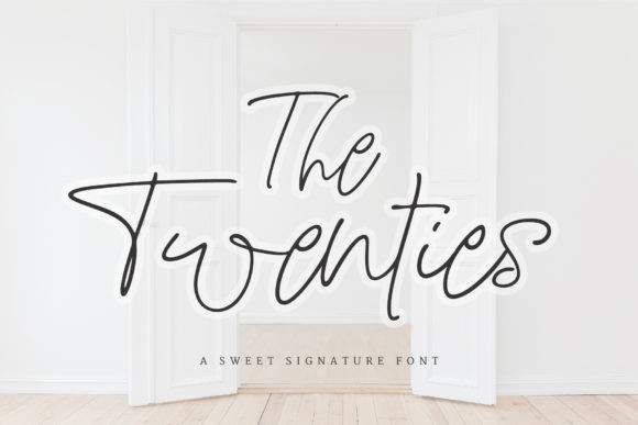 The Twenties Font