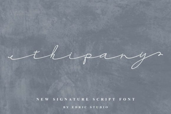 Thipany Font