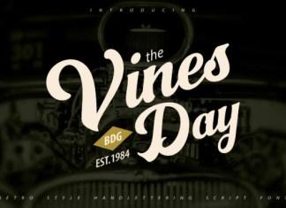 Vinesday Font