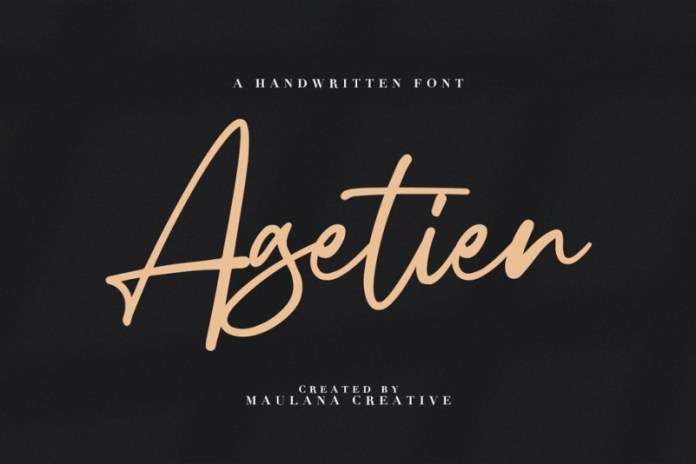 Agetien Font