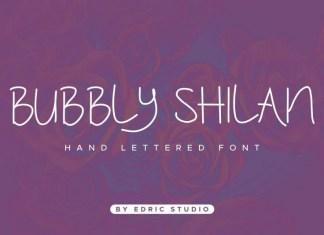 Bubbly Shilan Font