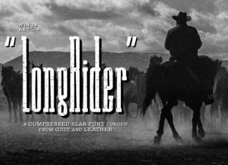Long Rider Font