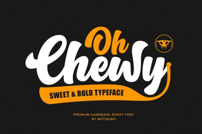 Oh Chewy Font