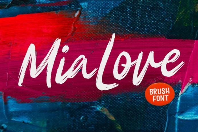 Mia Love Font