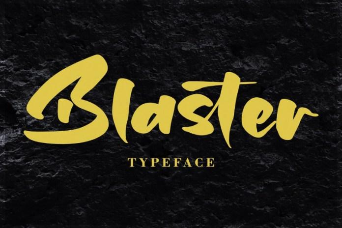 Blaster Font