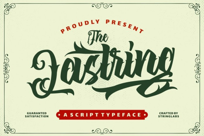 The Lastring Font