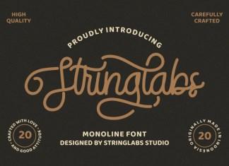 StringLabs Font