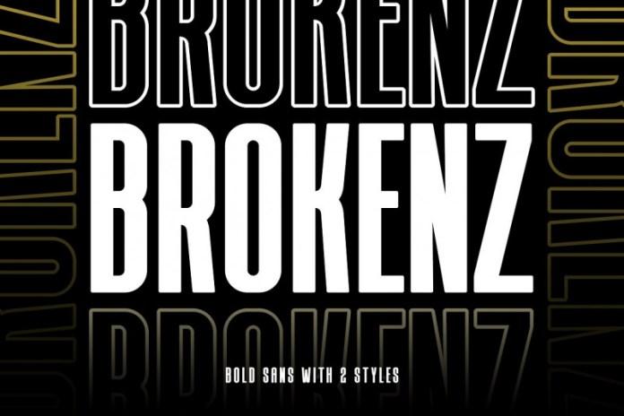 BROKENZ Font