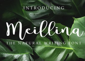 Meillina Natural Font
