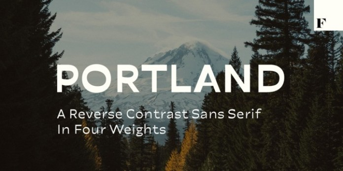 Portland Font
