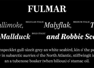 Fulmar Font