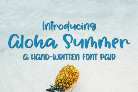 Aloha Summer Font