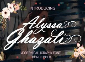 Alyssa Ghazali Font