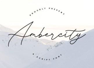 Ambercity Font