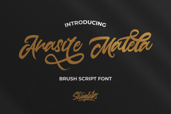 Anasite Malela Font