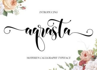 Aqrasta Font