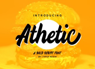 Athetic Font