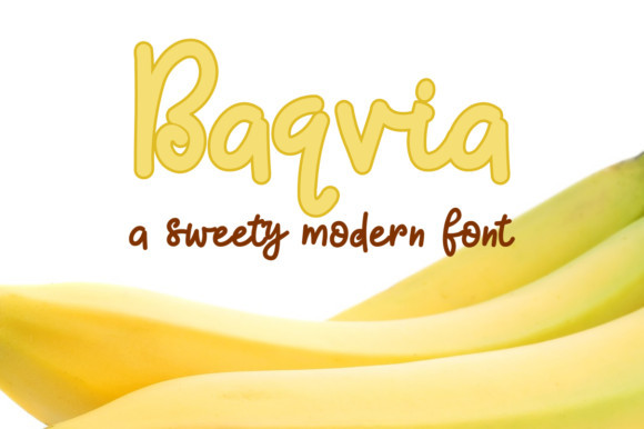 Baqvia Font