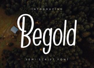 Begold Font