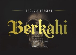 Berkahi Font