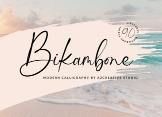 Bikambone Font