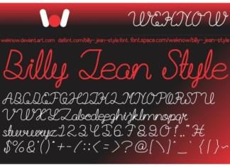 Billie Jean Font