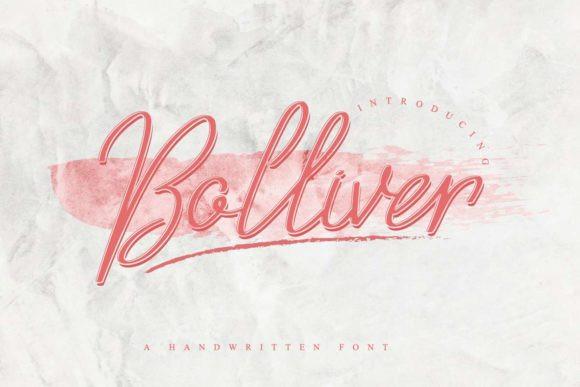 Bolliver Font