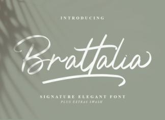 Brattalia Font