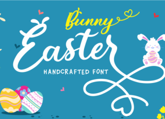 Bunny Easter Font