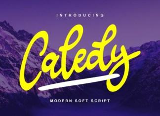 Caledy Font