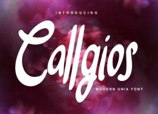 Callgios Font