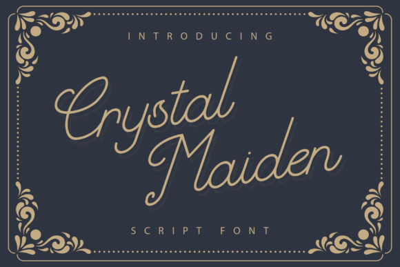 Crystal Maiden Font