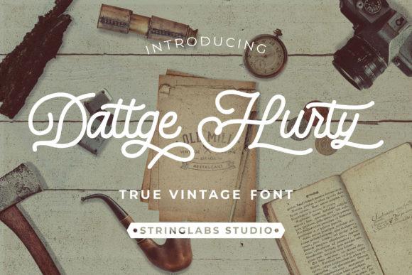 Dattge Hurty Font