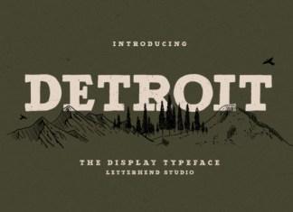 Detroit Font