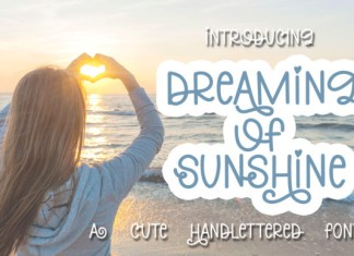 Dreaming of Sunshine Font