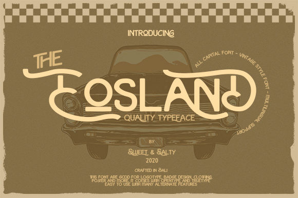 Eosland Font