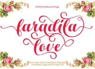 Faradila Love Font