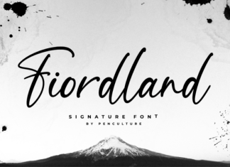 Fiordland Font