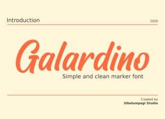 Galardino Font