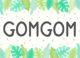 Gomgom Font