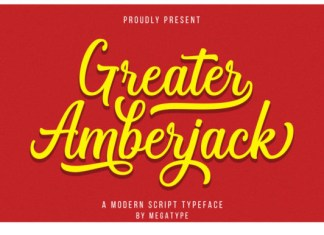 Greater Amberjack Font