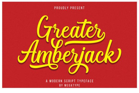Greater Amberjack Font