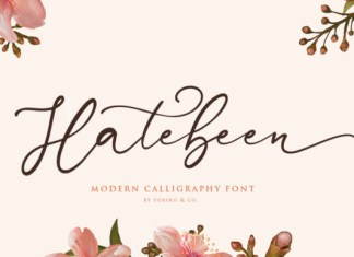 Hatebeen Font