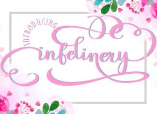 Infelinery Font