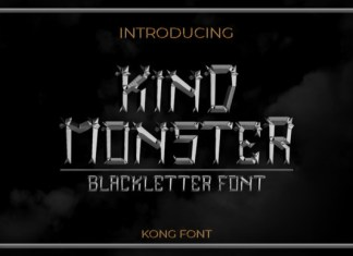 Kind Monster Font